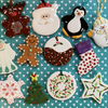 Ceramic Christmas Hanging Decoration