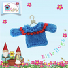 Bright Blue and Red Jumper to fit the Little Hug Dolls