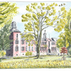 Schloss Kalkum - Limited Edition Print