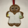 Gingerbread Scientist Decoration