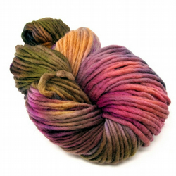 Hand Dyed Pencil Roving Cheviot Wool Giant Yarn Knitting 200g PR19