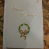 Wreath and Bell Christmas Card