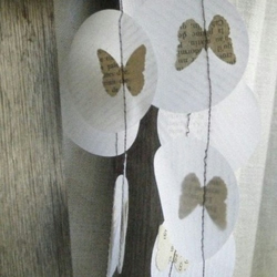 Petit Papillon- Butterflies in French Garland