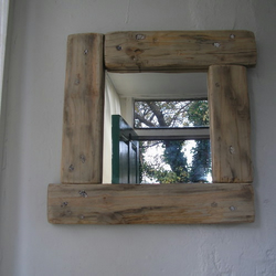 Handcrafted Driftwood Mirror from Ireland