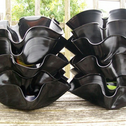 Recycled Record Bowl