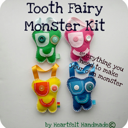 Tooth Fairy Monster DIY Kit