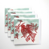 Pack of 4 Cherry Picked Christmas cards