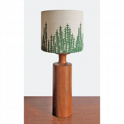 Lampshade - 'Forest' - Green