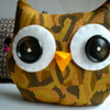 .Sew a Softie, Owl Cat Monster Thing Complete Kit and Tutorial - WonkyGiraffe