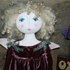 Valentines day primitive angel of love doll