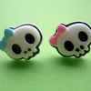 CUTE STUD EARRINGS Little Skullies