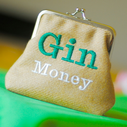 GIN MONEY Snap-Frame Purse