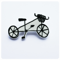 Bike Brooch