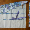 Roll Up Knitting Needle Holder In Flower Print Fabric