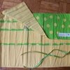 Roll Up Knitting Needle Holder In Green Daisy Print