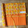 Roll Up Knitting Needle Case in Orange and Yellow