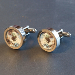 Yoda Star Wars Cuff Links