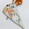 SCISSOR KEEPER  in Vintage Embroidered Linen