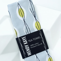 Fifties Abstract - Tea Towel