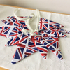 Union Jack Bunting - 11 Flags 5ft small flags plus ties, WW2 reenactments