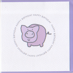 Happy Birthday Piggie card