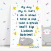 Cat Poem Postcard