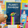 Planet Rainbow Enamel Pin Badge