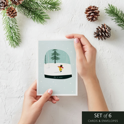 Christmas cards (Luxury) Set of 6 by PAPERMINT - FREE Shipping UK