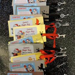 Magic santa keys