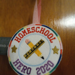 Homeschool Hero Decoration