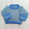 Baby's Knitted Aran Weight Jumper, Gift Ideas for Babies, Baby Clothes