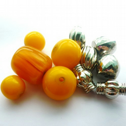 selection of chunky beads