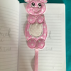 Animal bookmark piggy