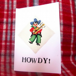 'Howdy' Greeting Card