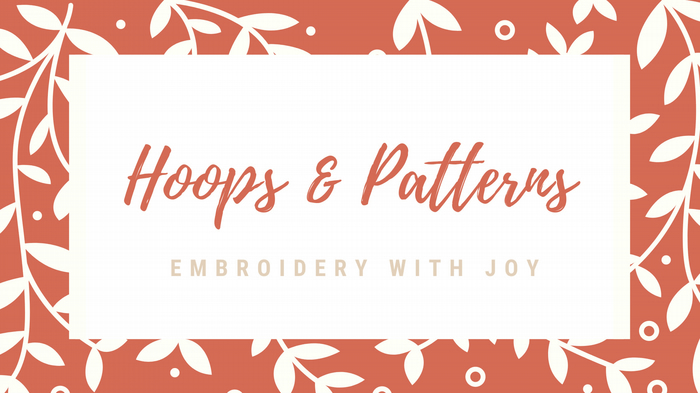 Embroidery with Joy