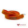 Orange 'Harris Tweed' Dog Lead