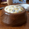 Turned Wooden Pincushion