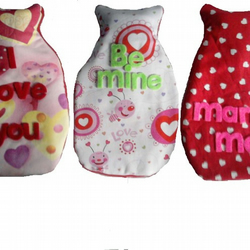 Valentine Hot Water Bottle Cover (Bottle Included)