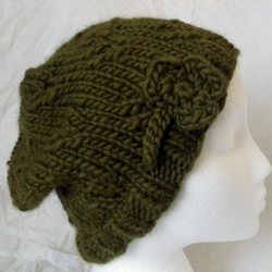 St. Patrick's Day Shamrock Hat 100% Wool