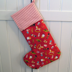 "Retro Vintage Style ""Nutcracker"" Christmas Stocking"