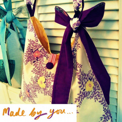 Trapeze Sling Tote Sewing Pattern