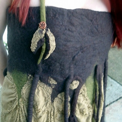 Reserved Woodland Fairy Felted Dress Top or Skirt
