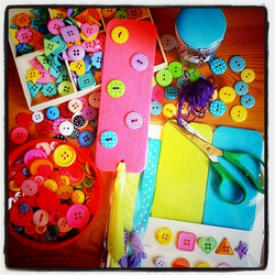 Felt Bookmark & Button Crafty Kit