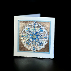 Medallion Image Stamped Card