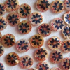 20 x Shell Buttons (Jacob) - 10mm