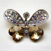 Beautiful Butterfly Button (42x30mm)