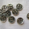 10 x Babette Shell Buttons - 11mm