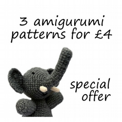 Special Offer - 3 patterns for £4