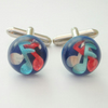 Musical note cufflinks
