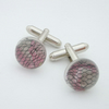 Reserved lace cufflinks
